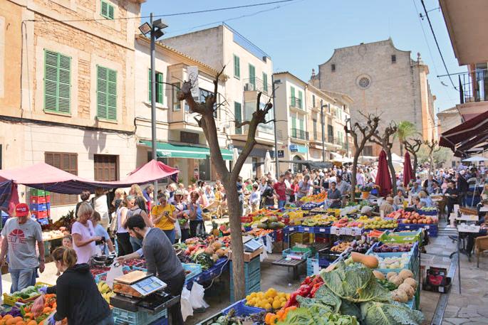 Santanyí Market Picture